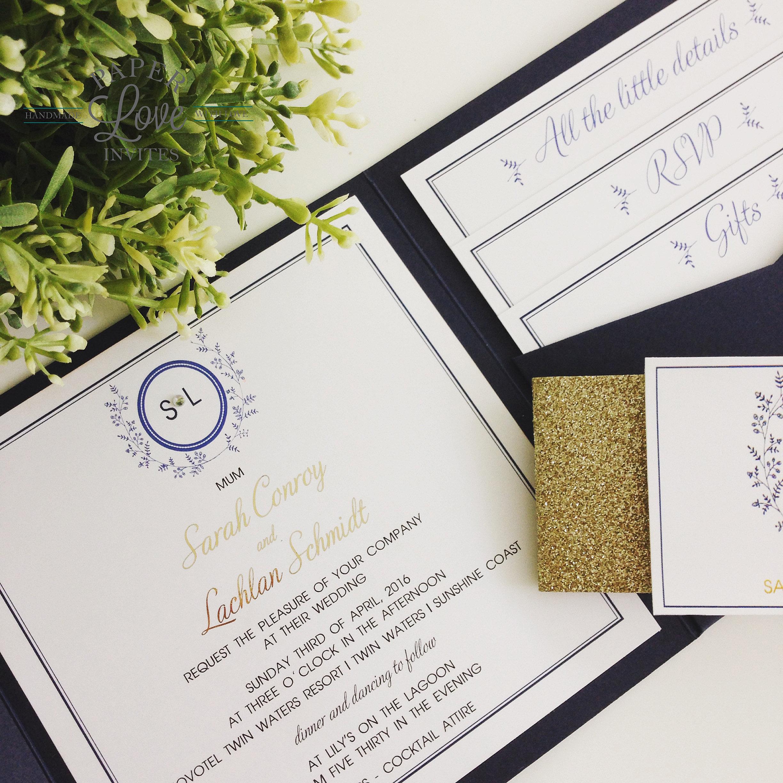 Wedding Invitations   Queensland   Paper Love Invites