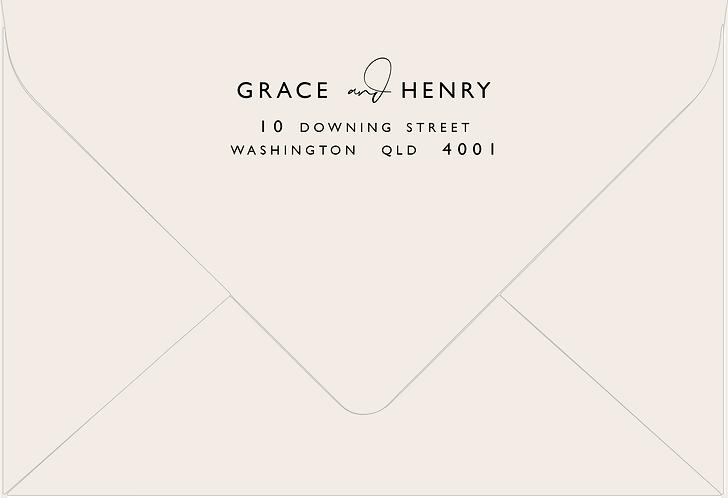 Grace Printed Envelope
