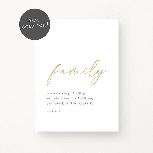 Inspired Prints | Family