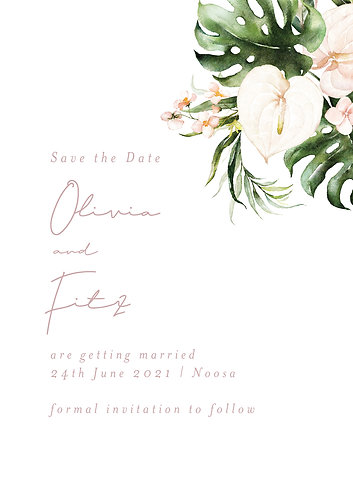 Olivia Save the Date