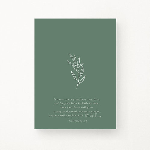 Inspired Prints | Roots - Seedling
