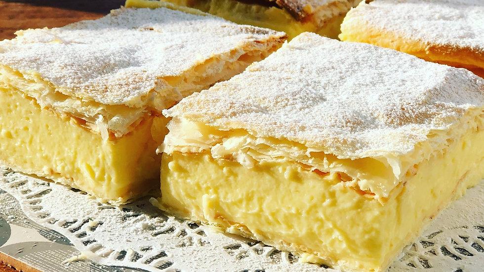 Vanilla Custard Slice ( Kremes)