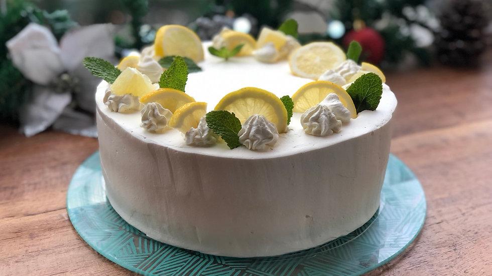 Vanilla Lemon Gateau