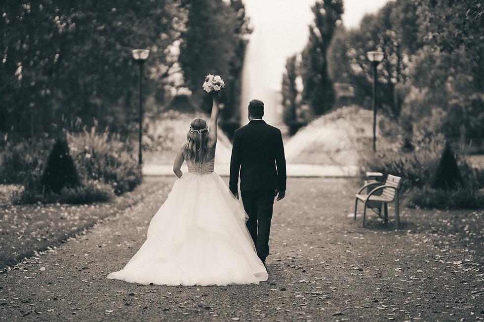 Foto der Hochzeit von Nathalie und Patric