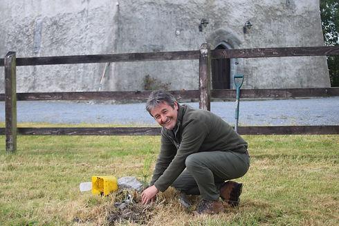 Colin planting at Turin.JPG
