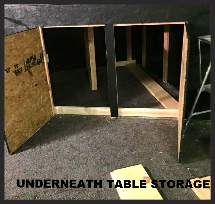 Underneath storage