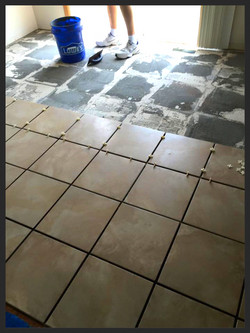 Managed property tile replacement