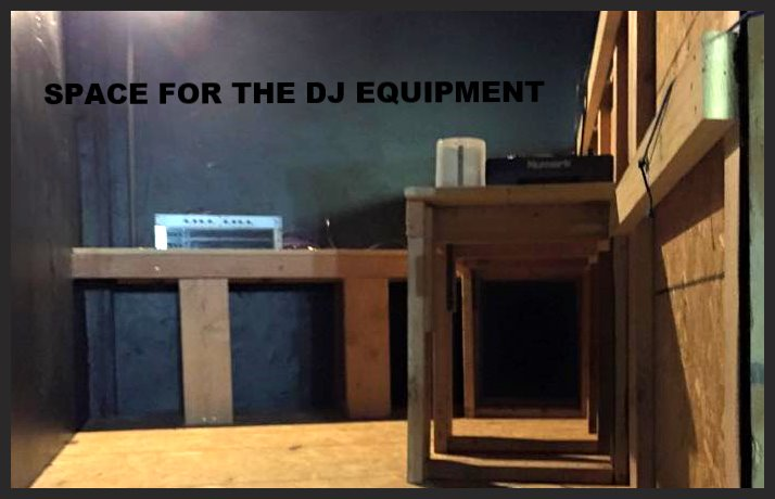 Shelves for equipment