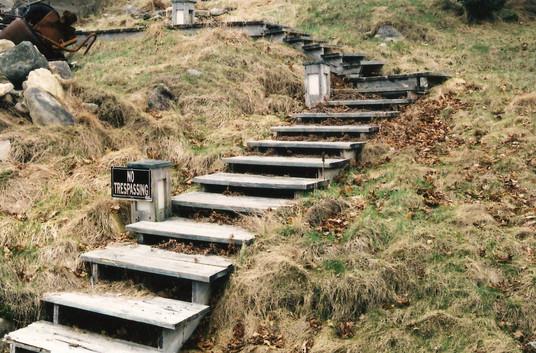 Frenchboro Staircase