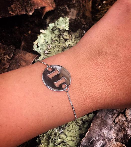 Bracelet personnalisé argent