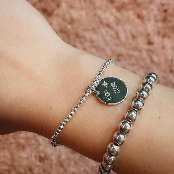 Bracelet élastique mon étoile