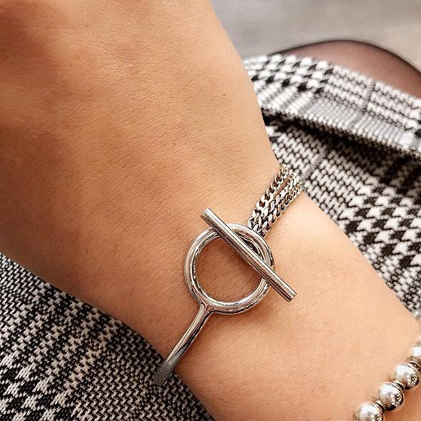 Bracelet Anatolie argent massif