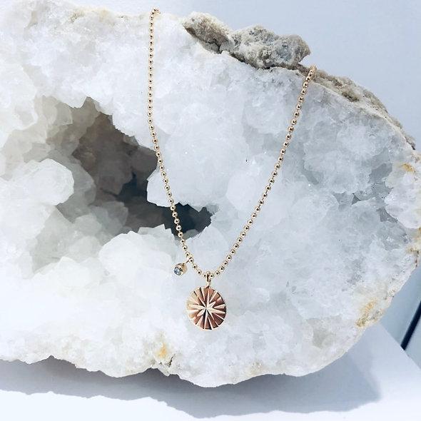 Collier étoile avec zirconium
