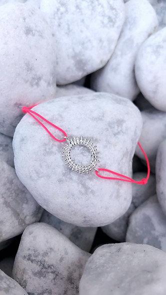 Bracelet Sun argent