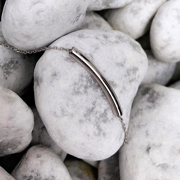 Bracelet barrette argent 925