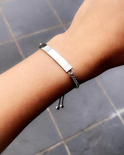 Bracelet Layla acier inoxydable