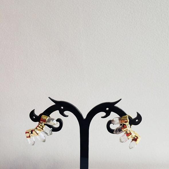 Boucle d'oreille cristaux Maria DOLORE ♥