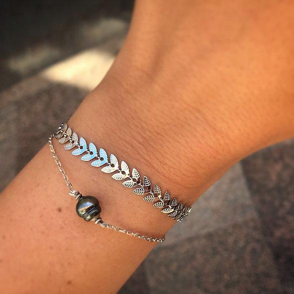 Bracelet épis acier inoxydable