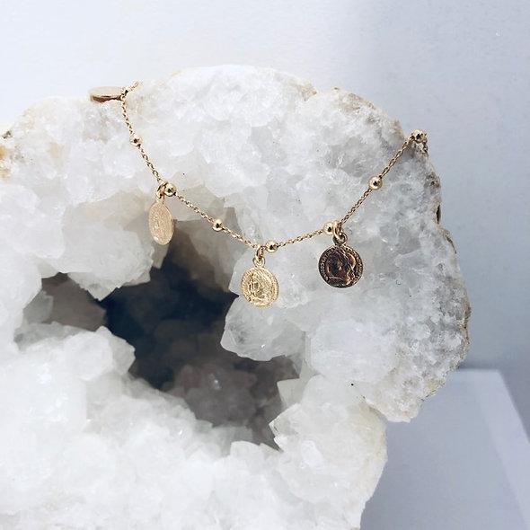 Bracelet pièce romaine