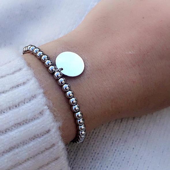 Bracelet élastique pampille