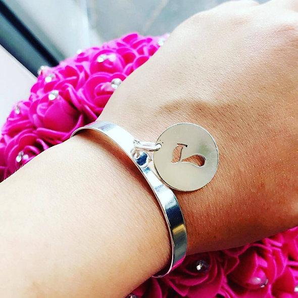 Bracelet ouvert personnalisable