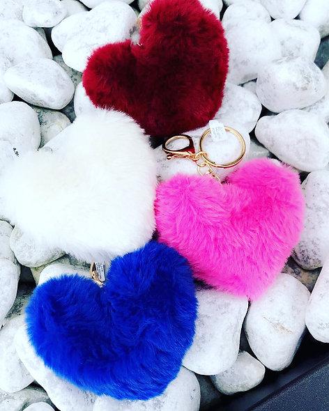 Porte clefs coeur