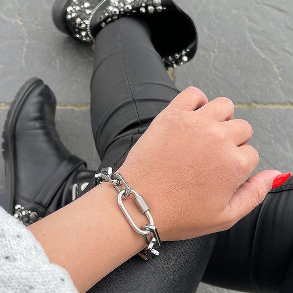 Bracelet Cris acier inoxydable