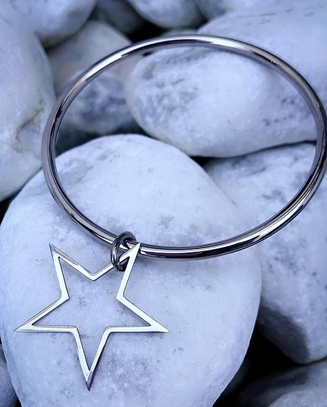 Jonc star acier