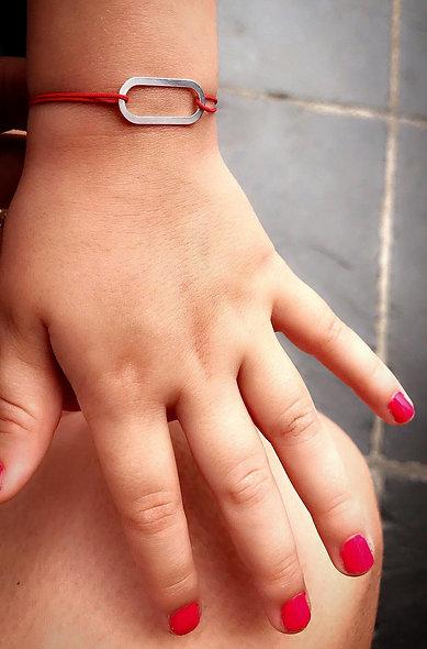 Bracelet enfant Circuitto argent