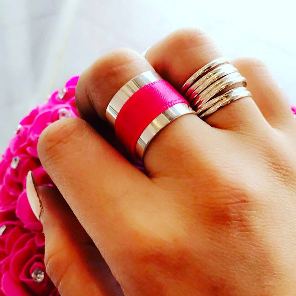 Bague Tube color's