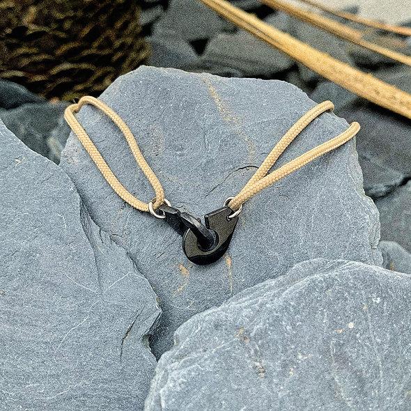 Collier menottes acier