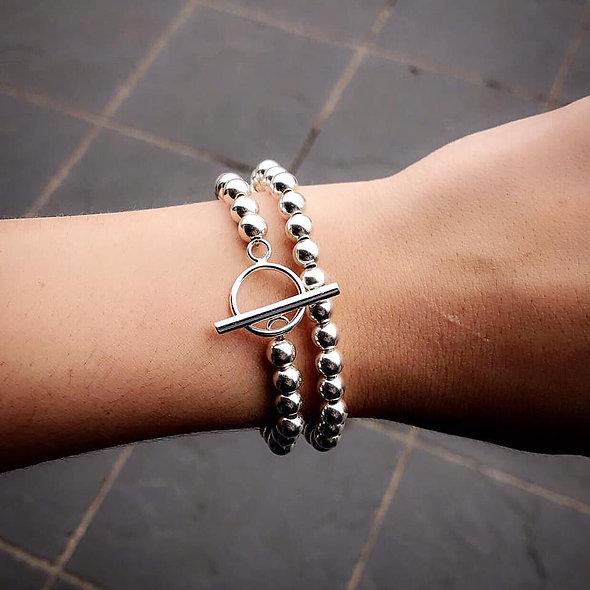 Bracelet/Collier 2 en 1 argent