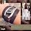 Thumbnail: Bracelet cuir pierre swarovsky
