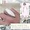 Thumbnail: Bague pierre fine, obsidienne blanche ♥
