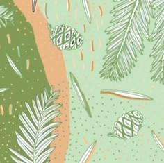 Redwood Mural Design