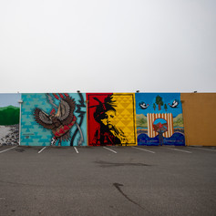 Native Mural: