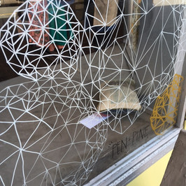 The Bodega Window Illustration - details