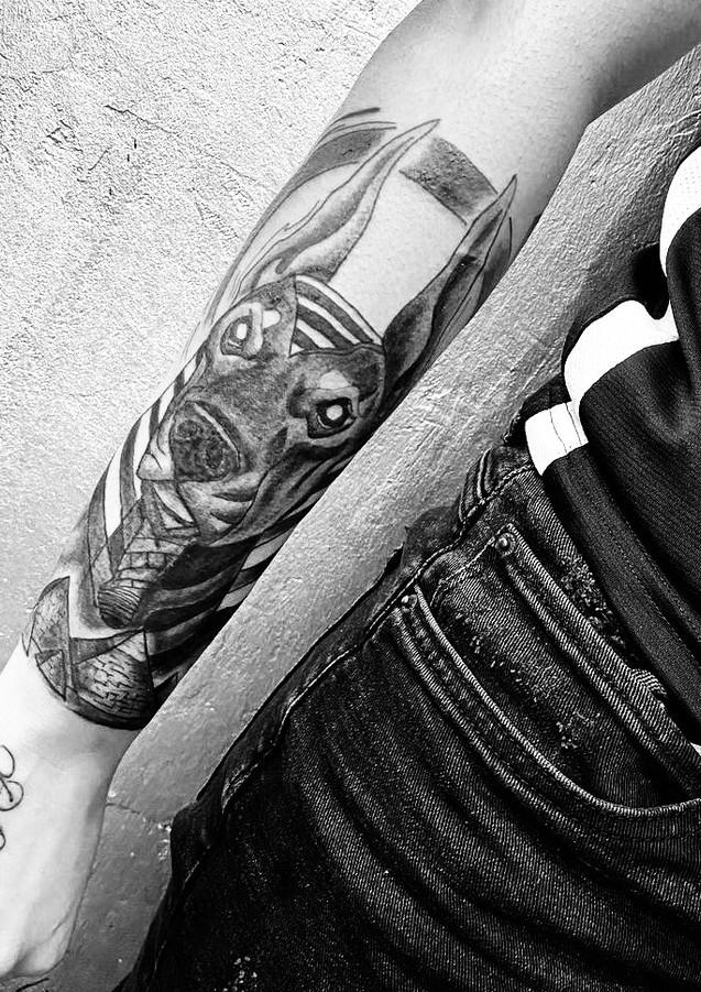 Anubis Tattoo Keestattz