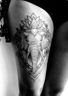 elephant mandala