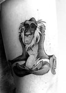 lionking tattoo