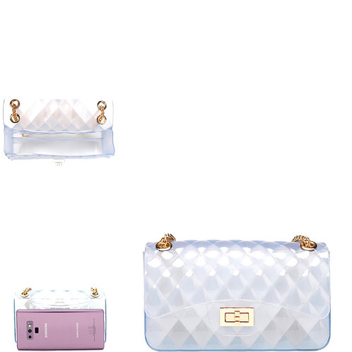 Clear Small Jelly Shoulder Bag