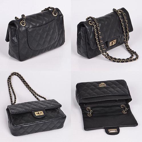 Quilted Chain Strap Shoulder Bag