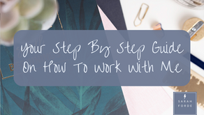 Your Step By Step Guide On How To Work With Me
