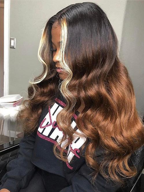 Custom Color Full Lace Wig