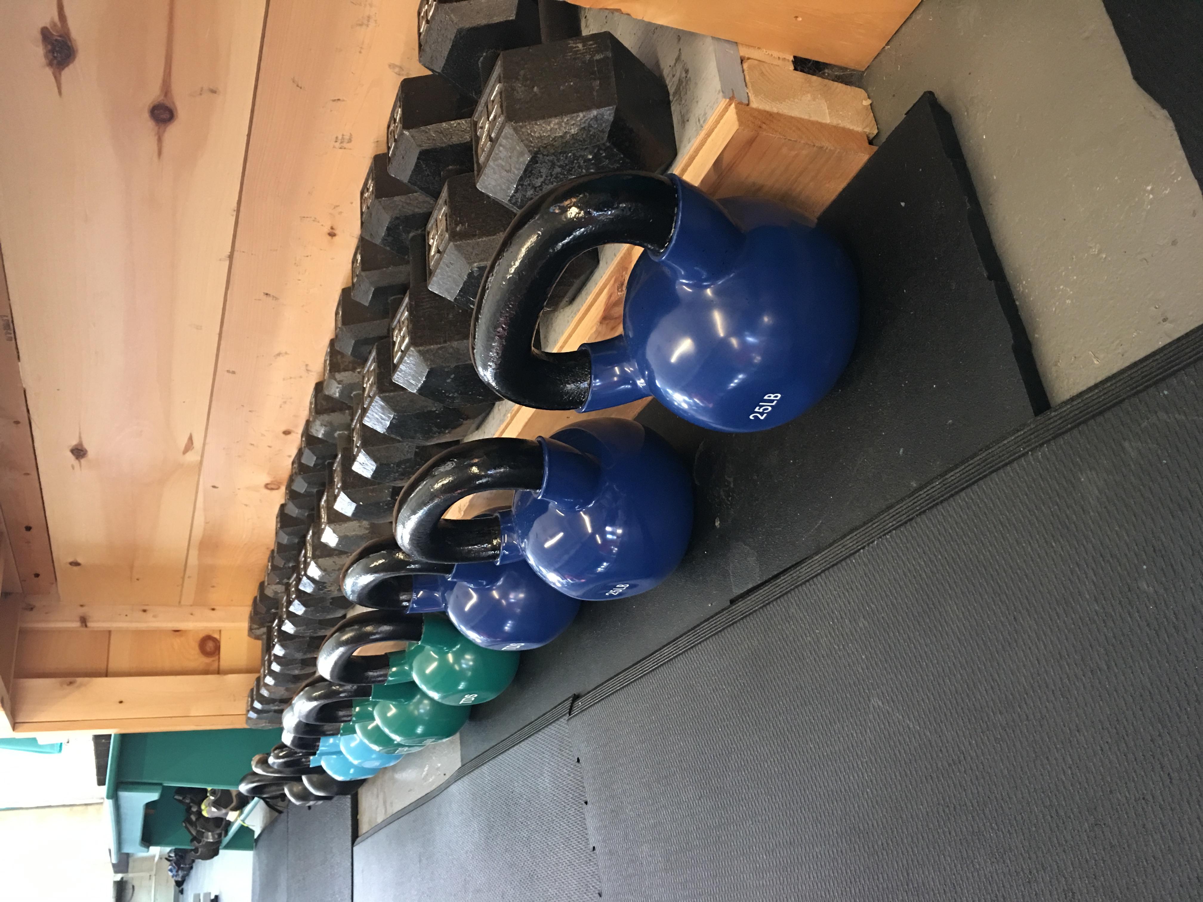 Kettle Bells & Weights
