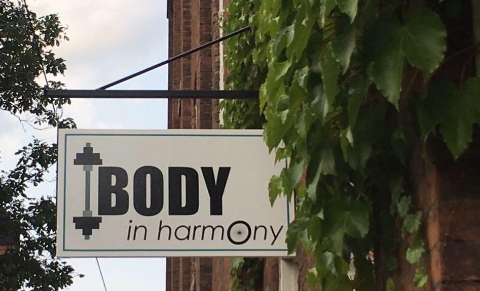 Body in Harmony Sign