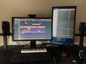 制作環境 Music work station