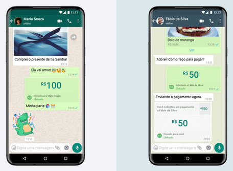 WhatsApp vai permitir enviar e receber dinheiro pelo aplicativo; Brasil será primeiro país a testar