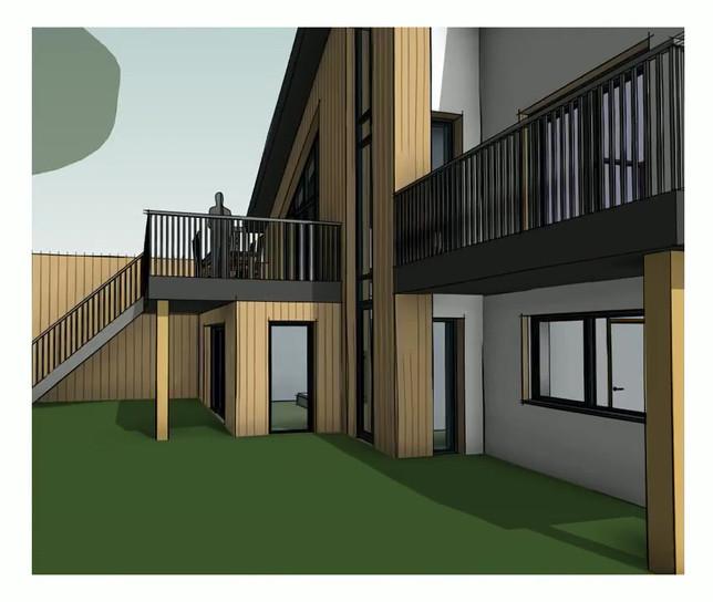 Passivhaus development, St Albans