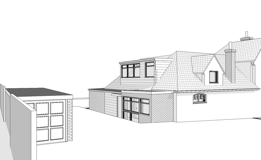 Computer Model of Existing Property